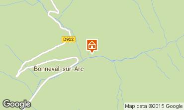 Map Bonneval sur Arc Apartment 488