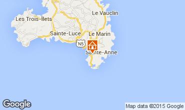 Map Sainte Anne (Martinique) Apartment 8128