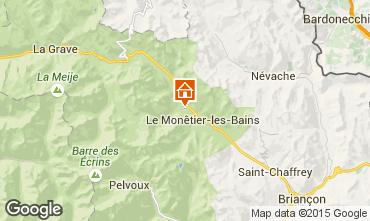 Map Serre Chevalier Chalet 2932