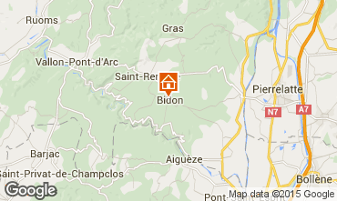 Map Vallon-Pont-D'Arc House 75616