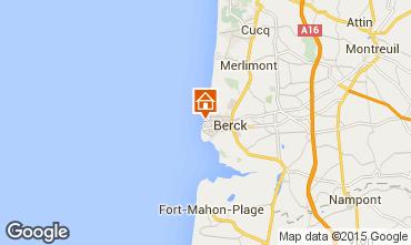Map Berck-Plage Studio apartment 94795