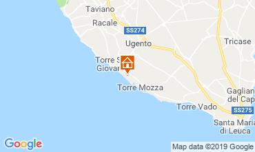 Map Ugento - Torre San Giovanni Villa 104522