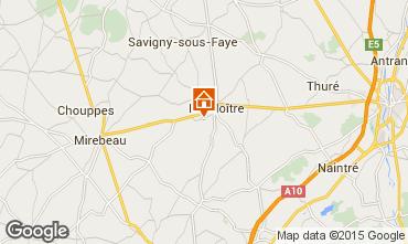 Map Alpe du Grand Serre Studio apartment 27605