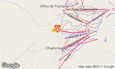 Map Chamrousse Chalet 39409