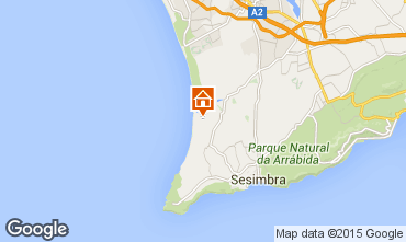 Map Lagoa de Albufeira House 83370