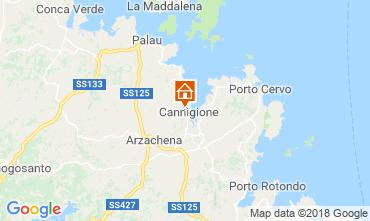 Map Cannigione House 116432