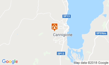 Map Cannigione House 116432