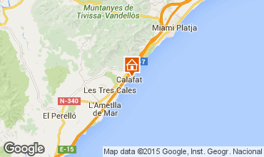 Map La Ametlla de Mar Villa 82763