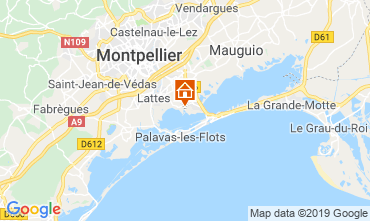 Map Montpellier Mobile home 118369