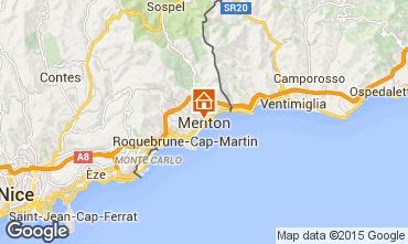 Map Menton Studio apartment 59821