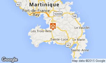 Map Rivière Salée Apartment 74689