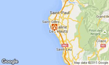 Map La Saline les Bains Villa 59508