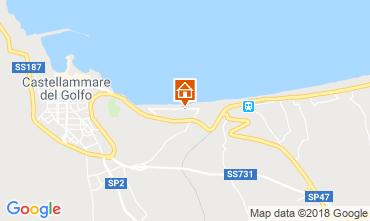 Map Castellammare del Golfo Villa 115689