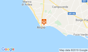 Map Anzio Apartment 118235