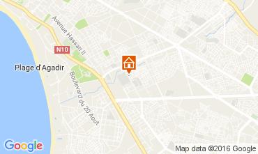 Map Agadir Apartment 107071