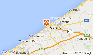 Map Ostend Apartment 104009