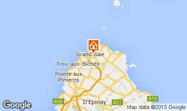 Map Grand Baie Villa 67176