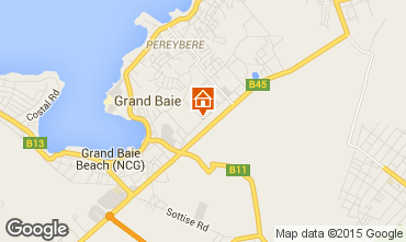 Map Grand Baie Villa 67176