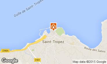 Map Saint Tropez House 5673