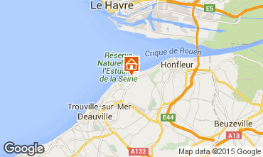 Map Honfleur House 7690