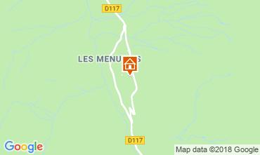 Map Les Menuires Apartment 116905