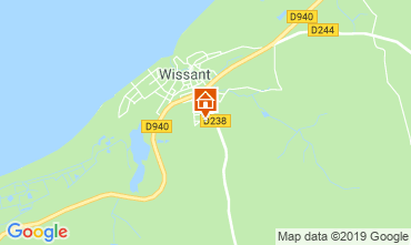 Map Wissant House 16157