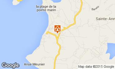 Map Sainte Anne (Martinique) Apartment 58877