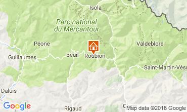Map Roubion les Buisses Apartment 114720