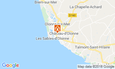 Map Les  Sables d'Olonne House 113293