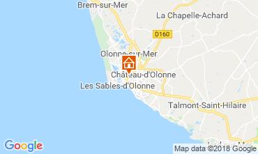 Map Les  Sables d'Olonne House 113293