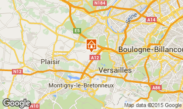 Map Versailles Self-catering property 15412