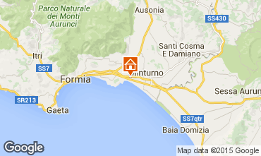 Map Formia Apartment 48612