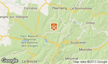 Map Gérardmer Chalet 4581