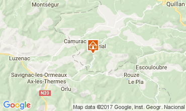 Map  Self-catering property 95876