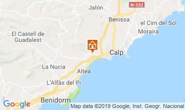 Map Altea Villa 118294