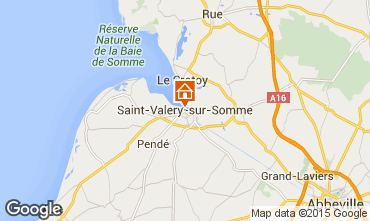 Map Saint Valéry sur Somme Self-catering property 94508