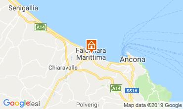 Map Falconara Marittima Apartment 117905