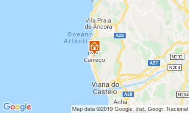 Map Viana Do castello Apartment 36774