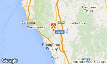 Map Castiglioncello Apartment 96711
