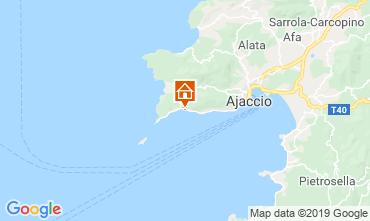 Map Ajaccio Apartment 118288