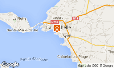 Map La Rochelle Apartment 83787