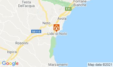 Map Noto Villa 73068