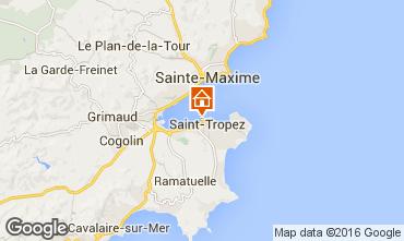 Map Saint Tropez Apartment 93969