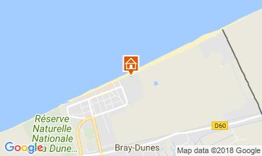 Map Bray-Dunes Apartment 114041
