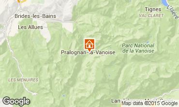 Map Pralognan la Vanoise House 81037