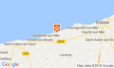 Map Veules-les-Roses House 115718