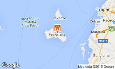Map Favignana Apartment 41282