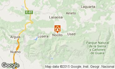 Map Aínsa Self-catering property 15760