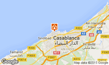 Map Casablanca Apartment 73511