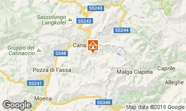 Map Canazei - Belvedere Apartment 45784